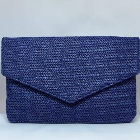 bolso sobre, azul marino
